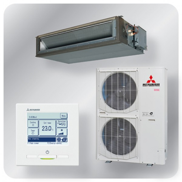 High static Ducted system 20kw R410A - Standard Inverter - 3ph - 70m pipe run