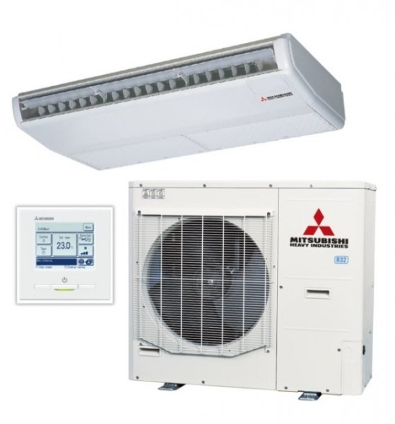 Ceiling Suspended system 12.5kw R32 - Micro Inverter - 3ph