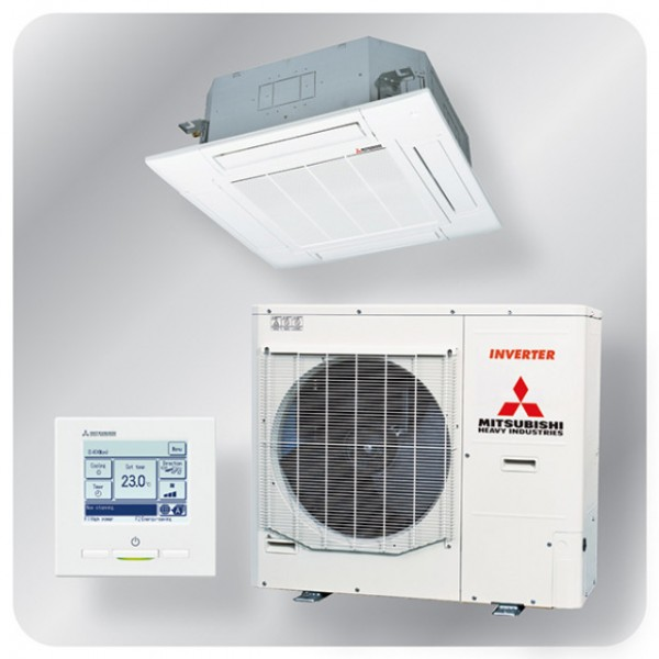 Standard Cassette system 12.5kw R410A - Micro inverter - 3ph