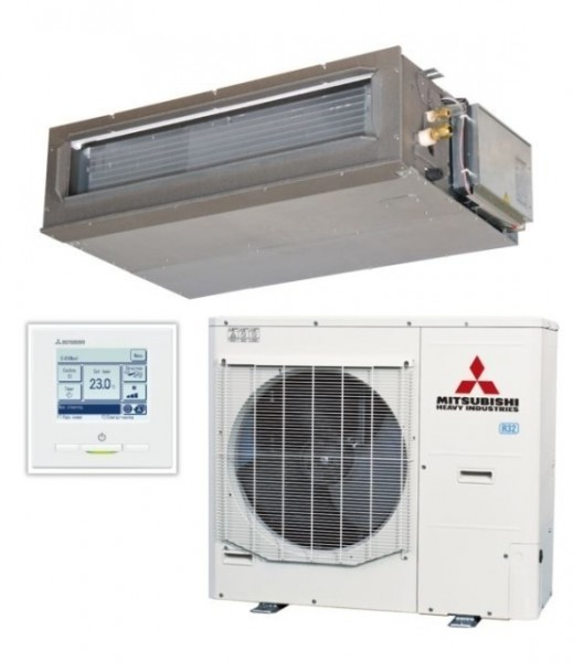 Ducted system 10kw R32 - Micro Inverter - 3ph