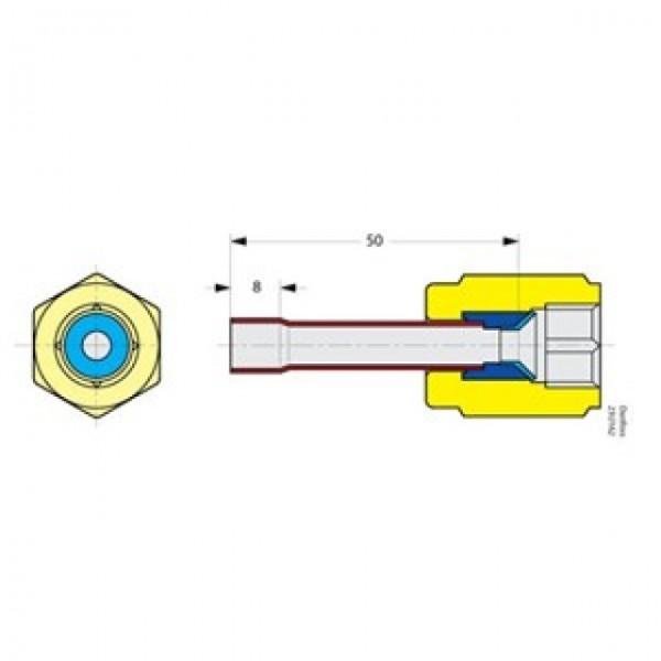 Danfoss Flare/Solder Adaptors