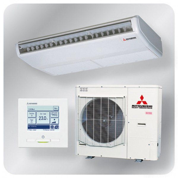 Ceiling Suspended system 10kw R410A - Hyper inverter - 3ph -100m pipe run