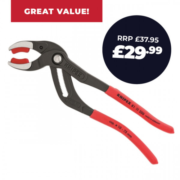 Knipex Siphon And Connector Pliers 250mm