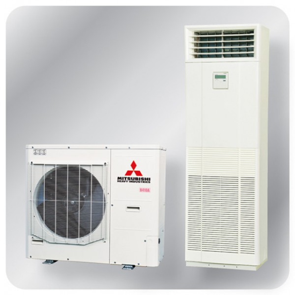 Floor Mounted system 12.5kw R410A - Micro Inverter - 3ph