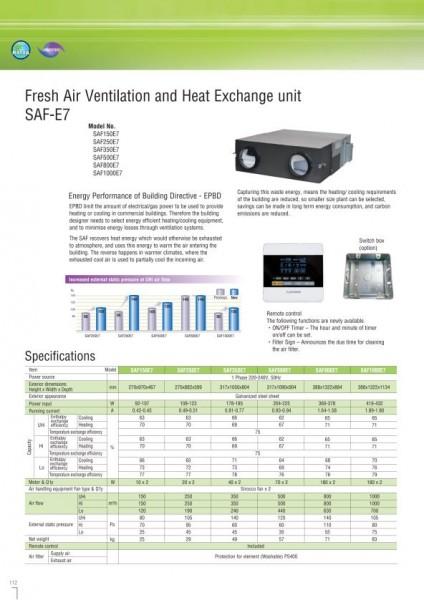 SAF-E7 Product Datasheet