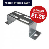 Stand Off Bracket (Pre-Galvanised) CABLE TRAY STAND OFF BRACKET 75MM Pre Galvanised