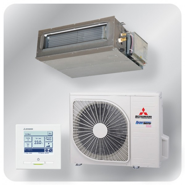 Ducted system 4.0kw R410A - Hyper Inverter
