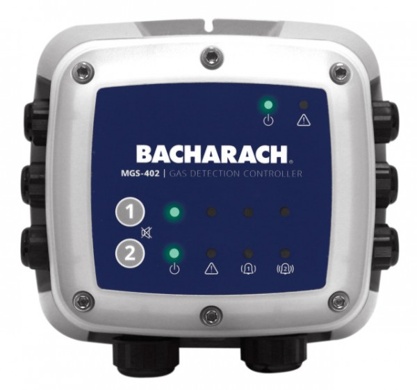Bacarach MGS402 Range Up to 2 Channel