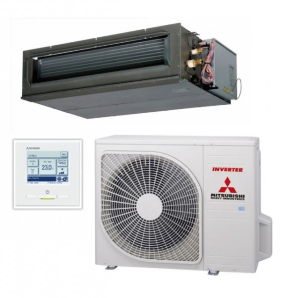 Ducted system 7.1kw R32 - Standard Inverter - 1ph