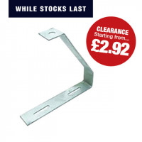 Cable Tray Hanger (Pre-Galvanised) Cable Tray Central Hanging Bracket 75MM Pre Galvanised