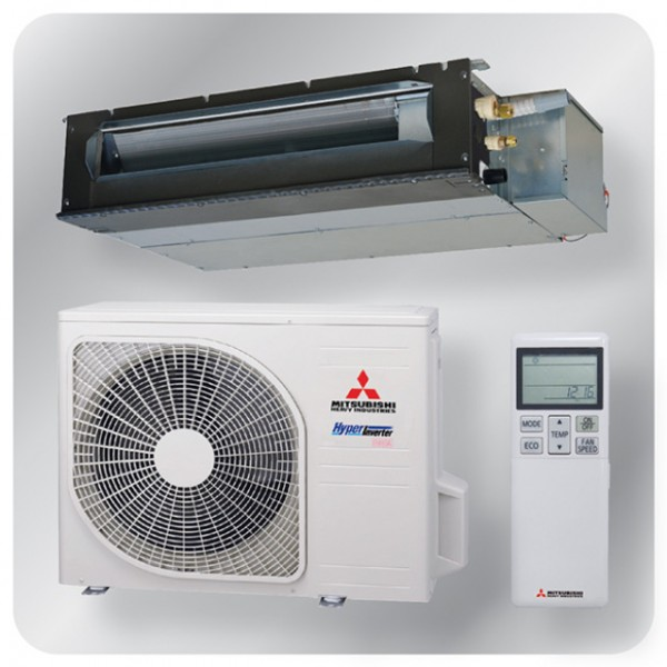 Ducted system 3.5kw R410A - Hyper inverter