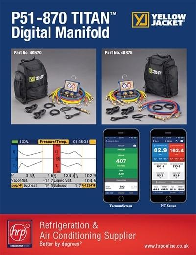 YJ P51-870 Titan Digital Manifold (HRP)
