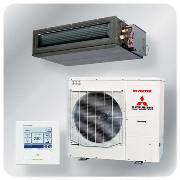 High static Ducted system 10kw R410A - Micro Inverter - 3ph