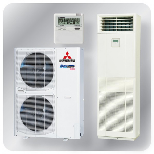 Floor Mounted system 10kw R410A - Hyper Inverter