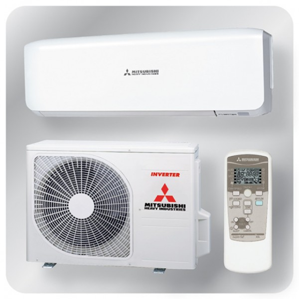 Wall mounted system 3.5kw R410a - premium inverter - pure white