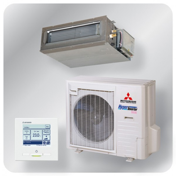Ducted system 7.1kw R410A - Hyper Inverter