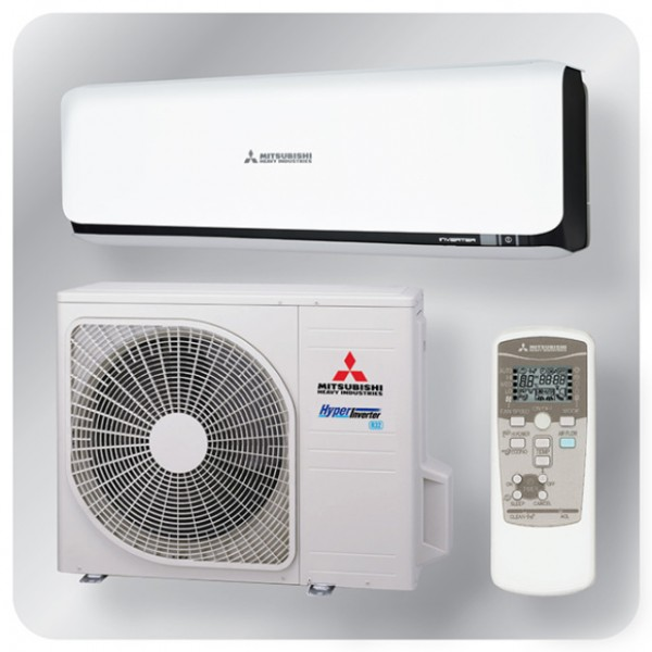 Wall mounted system 5.0kw R32 - Diamond Inverter - black + white