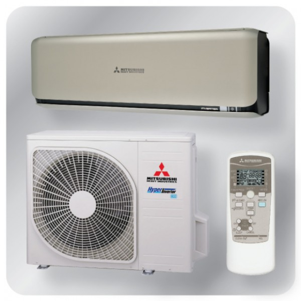 Wall mounted system 3.5kw R32 - Diamond Inverter - Titanium