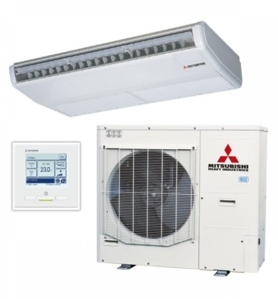 Ceiling Suspended system 14kw R32 - Micro Inverter- 1ph