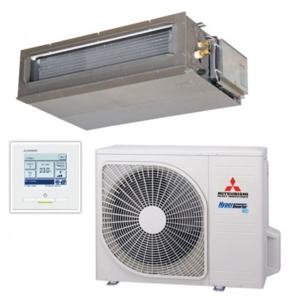Ducted system 4.0kw R32 - Hyper Inverter - 1ph