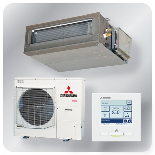 Ducted system 14kw R410A - Micro Inverter