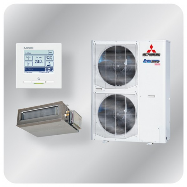 Ducted system 10kw R410A - Hyper Inverter - 3ph