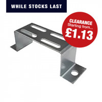 Stand Off Bracket (Hot Dip Galvanised) CABLE TRAY STAND OFF BRACKET 100MM HDG