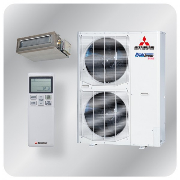 Ducted system 12.5kw R410A - Hyper Inverter